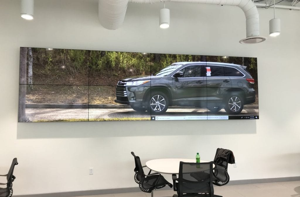 4 Ways Your Birmingham Business Can Utilize a Video Wall