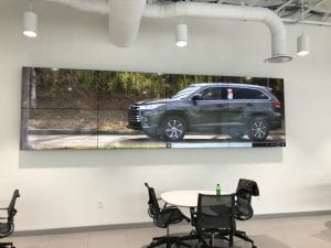 business video wall