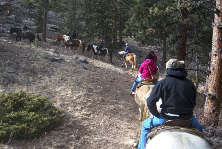 Rocky Mountain National Park Horseback