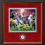 Crimson Dynasty Daniel Moore Framed Coin