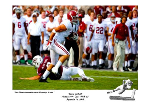Vinnie Sunseri Alabama Football Prints