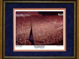 iron bowl celebration framed