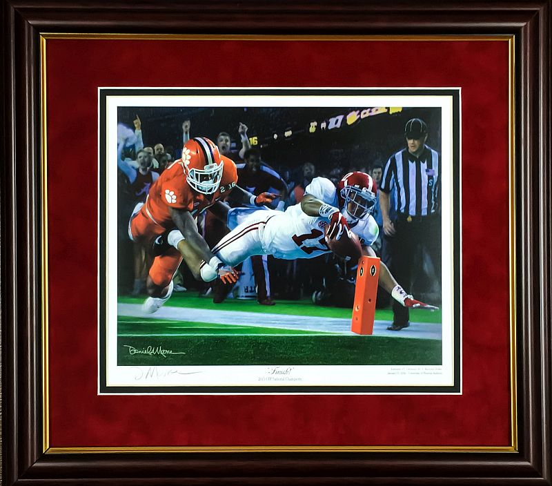 Daniel Moore Finish Framed